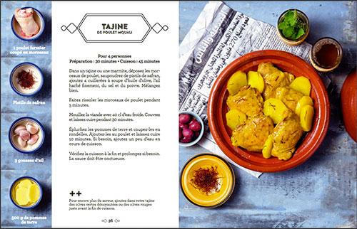 Le Maroc en 4 ingrédients - Nadia Paprikas