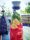eau aromatisée à la pastèque