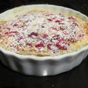 recette de clafoutis cerises sans lactose