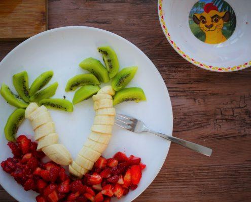 comment faire une salade de fruit avec les enfants