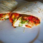 Burrito aux légumes, sans viande