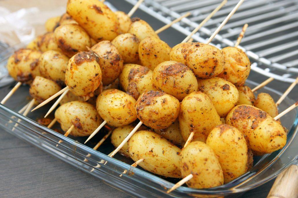 Pommes de terre nouvelle au barbecue