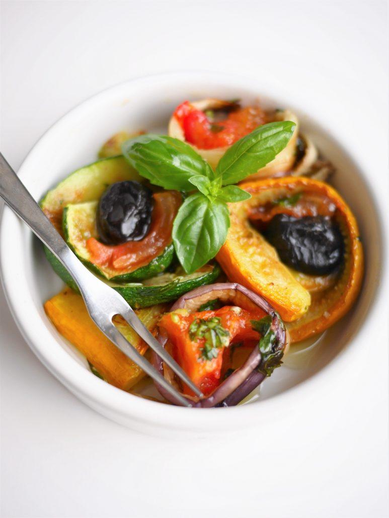 légumes grillés à la plancha