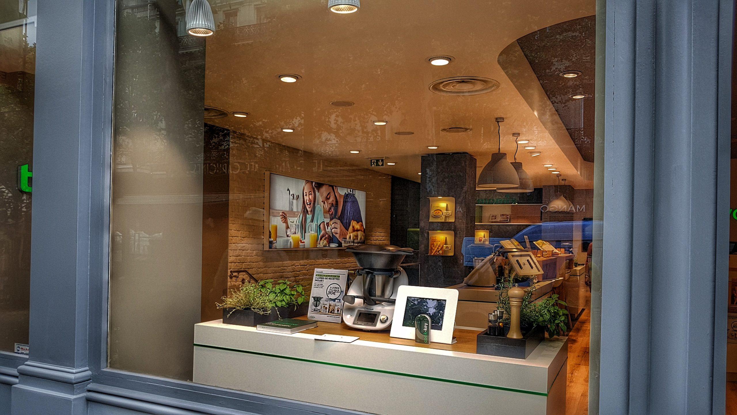 boutique thermomix boulevard des capucins à Paris