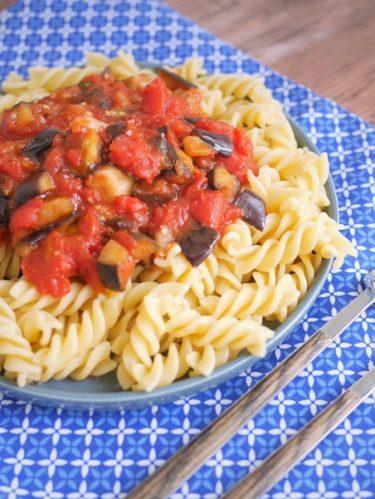 pasta alla norma, recette de pâtes à la Sicilienne