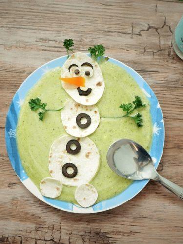 Soupe de courgette pour les enfants