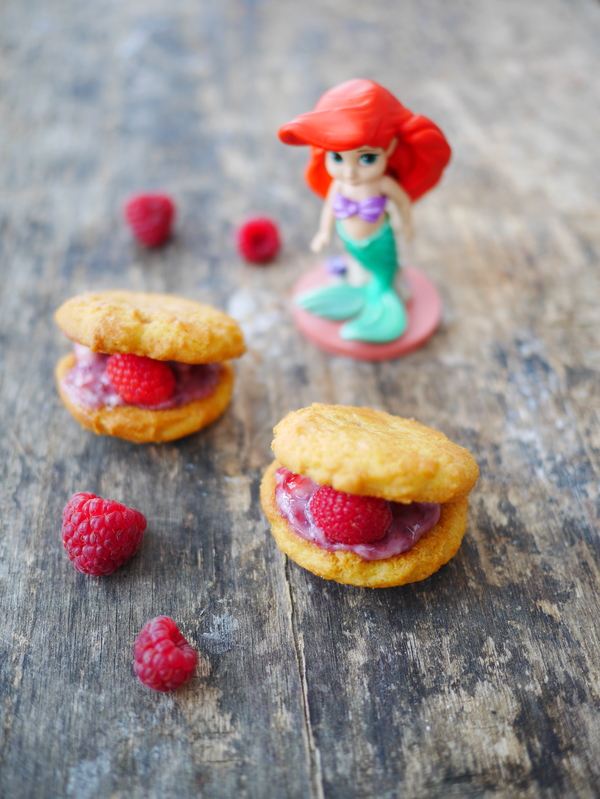 Les biscuits coquillage, d'Ariel la petite sirène