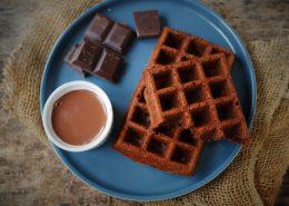 gaufres au chocolat, recette tupperware