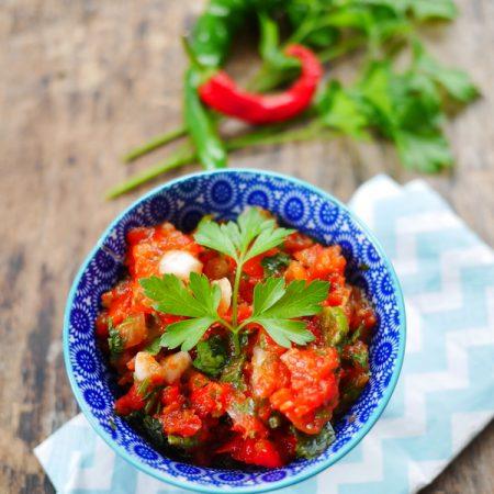 pico del gallo, une recette pimentée