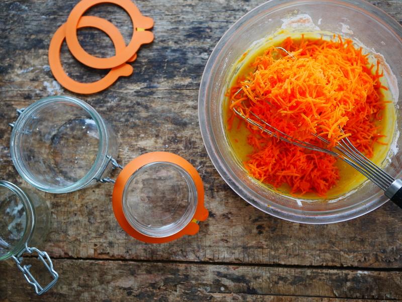 Carrot cake à offrir