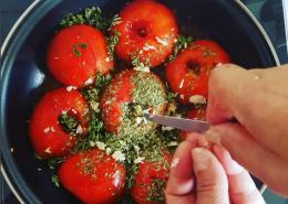 les meilleures tomates provençales, la vraie recette