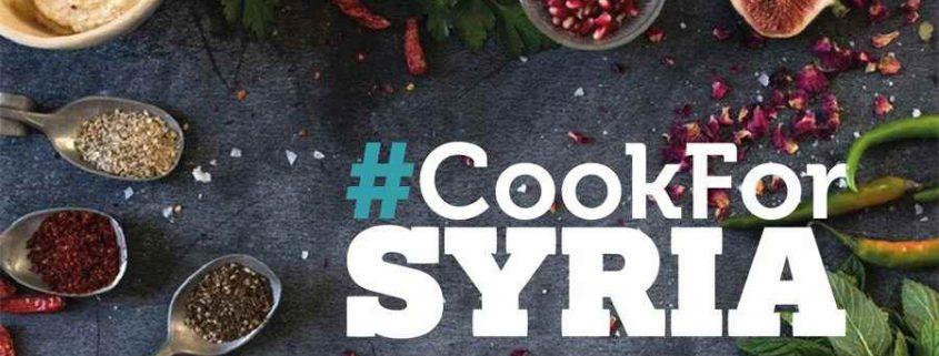 Cook for Syria, pour venir en aide aux enfants