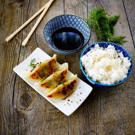 recette des mandous, les raviolis coreens