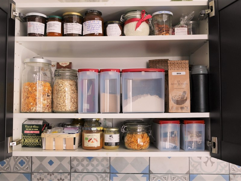 Courses alimentaires le vrac pour viter le gaspillage et les d chets superflus recettes de - Pot en verre ikea ...