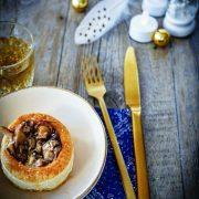 vol au vent au foie gras
