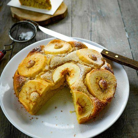 recette de gâteau au pomme mascarpone