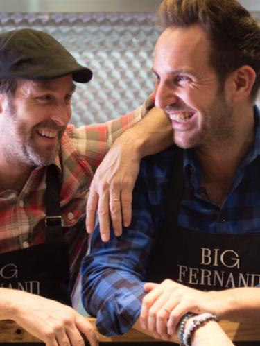 Big Fernand & Christophe Michalak soutiennent la recherche contre le cancer