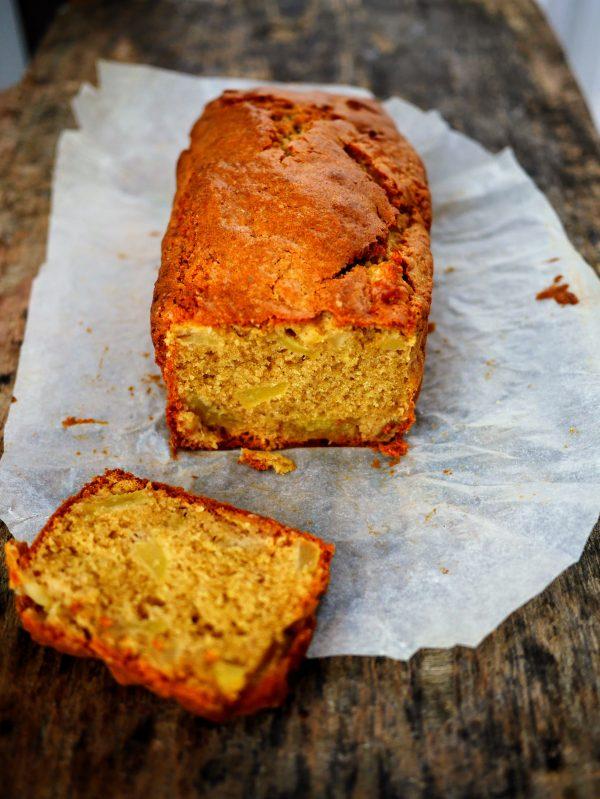 Cake A La Peche Sucre Roux