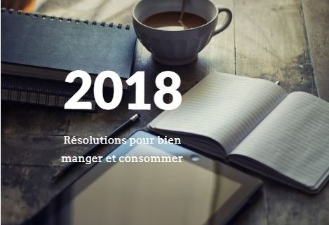 resolution alimentaire 2018