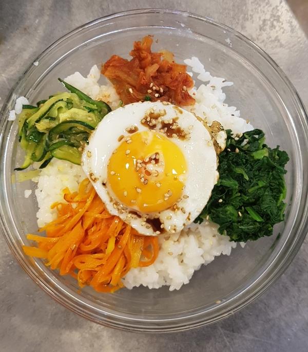 Bibimbap Coréen