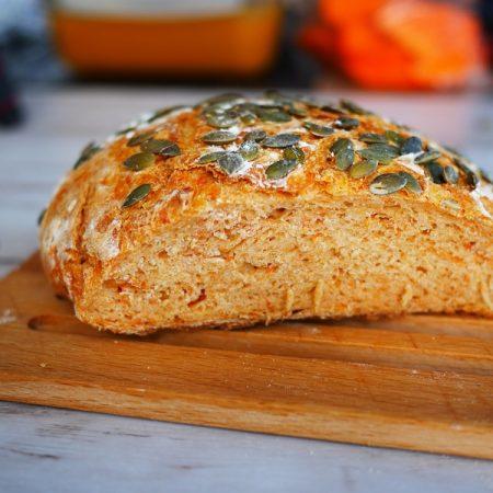Recette de pain à la courge et graines de courges