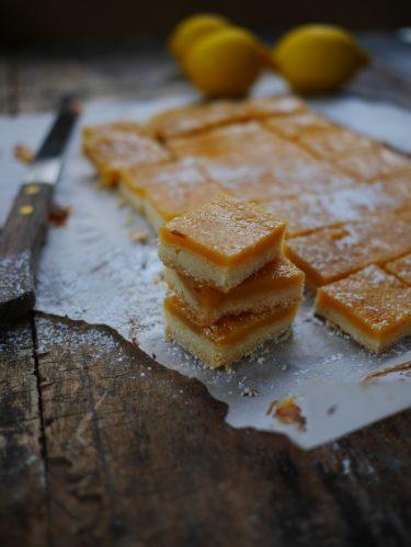 Recette de gâteau au citron : lemon bar