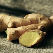 racines de gingembre