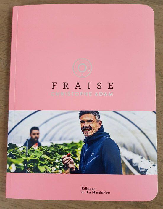 """le livre """"fraise"""" de christophe adam"""