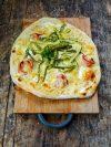 Recette de pizza blanche aux asperges