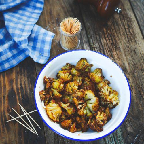 Recette du chou fleur rôti au four aux épices
