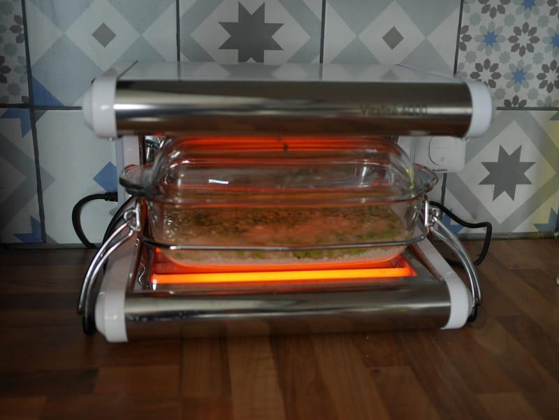 Risotto petits pois basilic et parmesan - cuisson basse température
