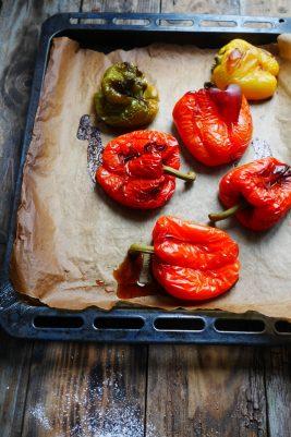 Comment faire des poivrons au four ?
