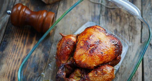Recette du poulet au pain dur