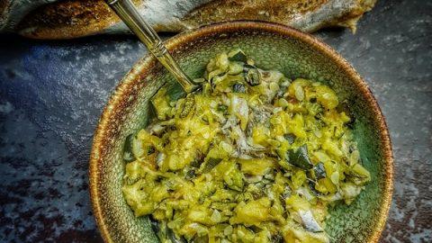 recette de courgette à tartiner