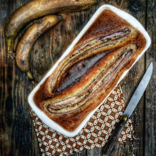 recette de cake banane et fruits secs