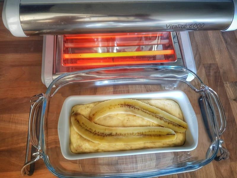 Cake bananes et fruits secs - Cuisson vapeur douce