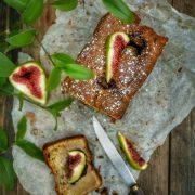 recette de cake figues fraîches et amandes