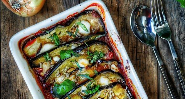 recette du tian d'aubergines