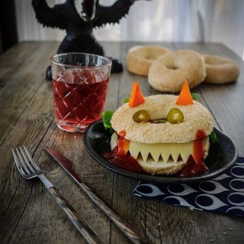 sandwich d'Halloween