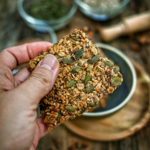 Recette de crackers aux graines