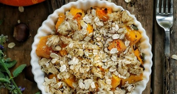 crumble de potimarron