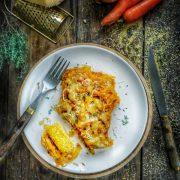 recette de pain de maïs et carottes fondantes