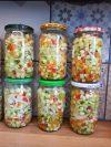salade marinées aigre douce en conserve