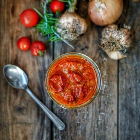 sauce aux tomates cerises