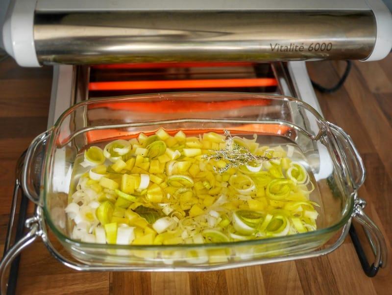 Soupe Parmentier - cuisson basse température