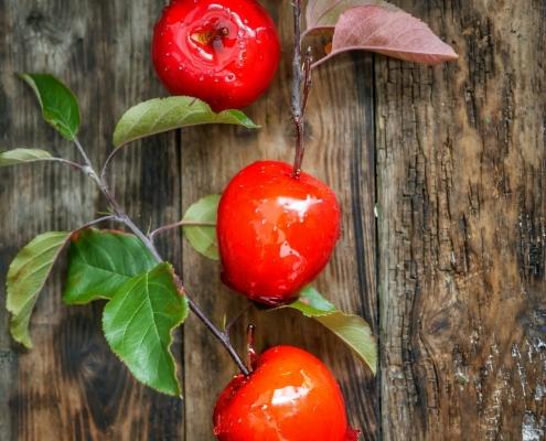 recette de pommes d'amour