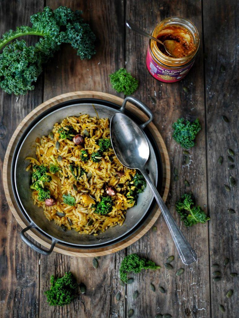 recette de curry lentilles et riz