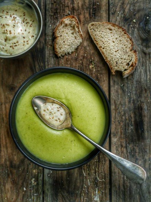 soupe de courgette mascarpone