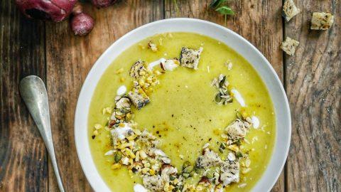 soupe de topinambour au curry
