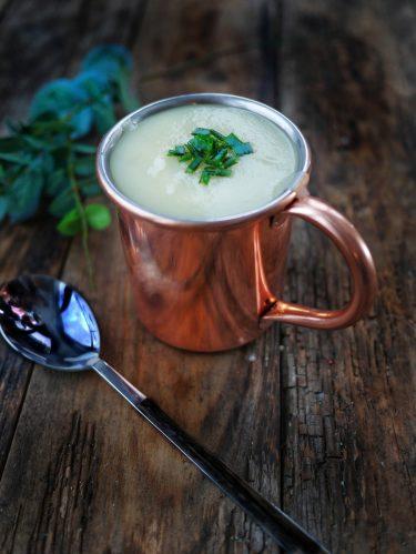 recette de soupe de poireaux à la pomme de terre